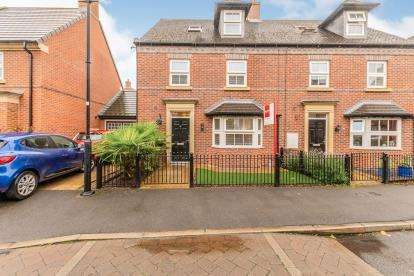 4 Bedrooms Semi Detached House for sale in Partington Square, Sandymoor, Runcorn, Cheshire