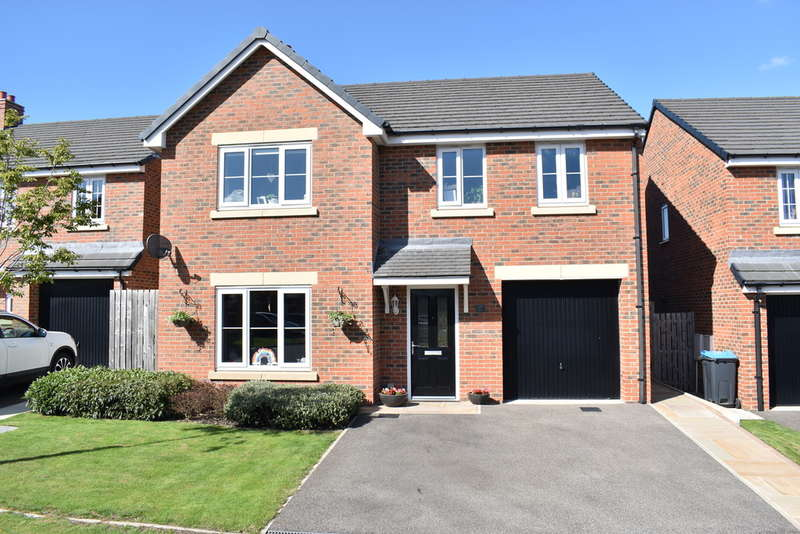 4 Bedrooms Detached House for sale in Railway View, Aiskew, Bedale