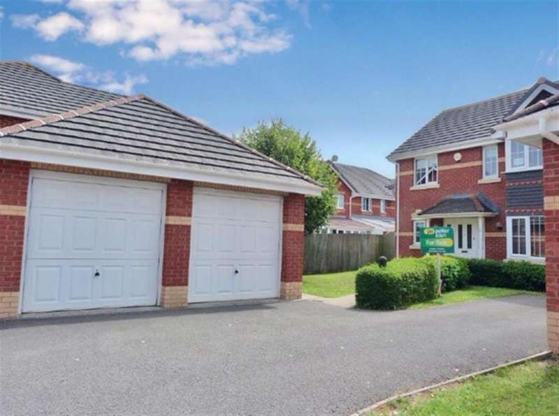 4 Bedrooms Detached House for sale in Jordan Gardens, Monmouth