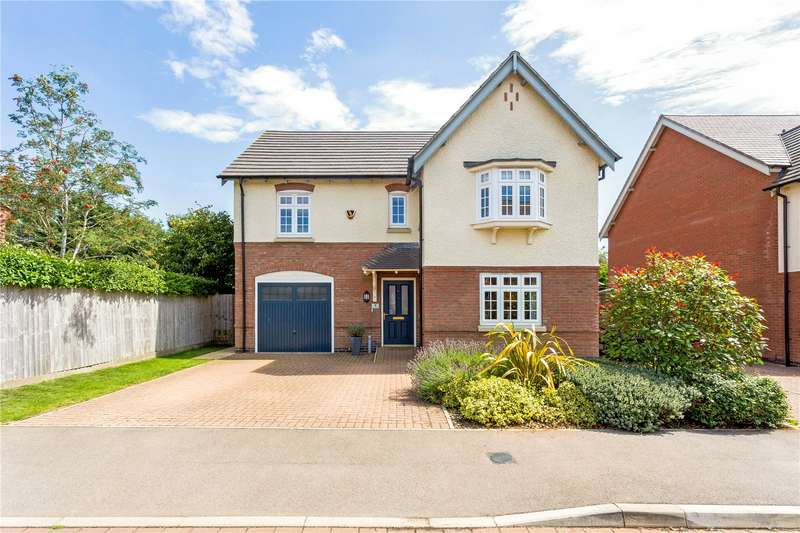4 Bedrooms Detached House for sale in Clock Meadow, Byfield, Northamptonshire, NN11