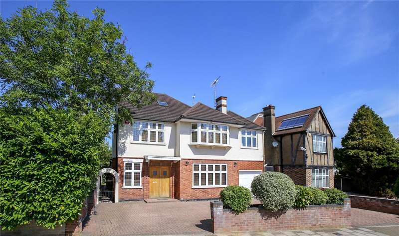 6 Bedrooms Detached House for sale in Dalkeith Grove, Stanmore, HA7