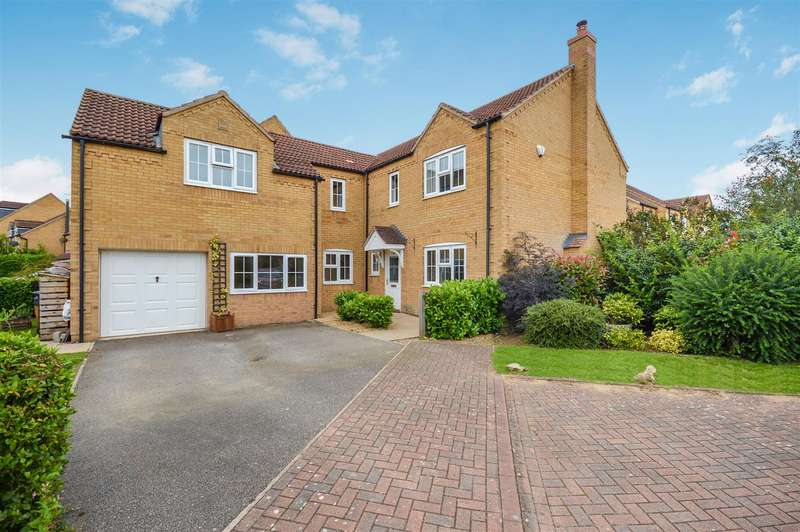 5 Bedrooms Detached House for sale in Heath Road, Navenby, Lincoln