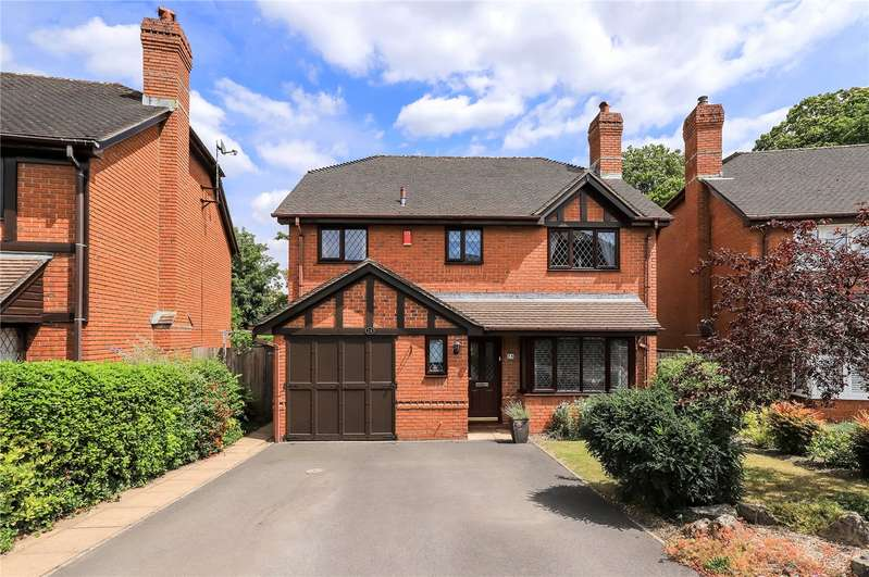 4 Bedrooms Detached House for sale in Halls Farm Close, Winchester, Hampshire, SO22