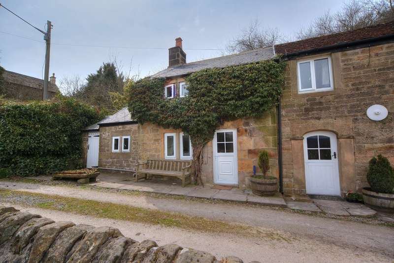 2 Bedrooms Cottage House for sale in Pilhough, Rowsley, Matlock