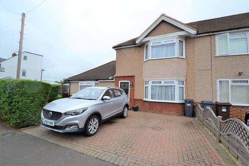 2 Bedrooms End Of Terrace House for sale in Denison Road, Lower Feltham