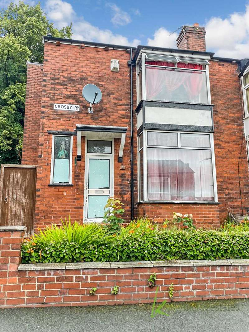3 Bedrooms Semi Detached House for sale in Crosby Road, Bolton