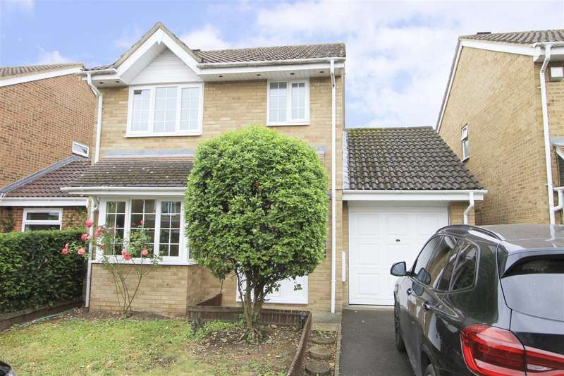 3 Bedrooms Detached House for sale in Cousins Close, Yiewsley, UB7