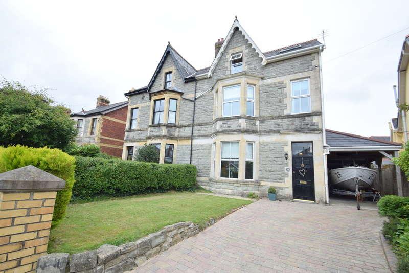 5 Bedrooms Semi Detached House for sale in 25 Merthyr Mawr Road, Bridgend, Bridgend County Borough, CF31 3NN