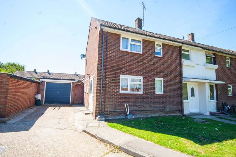 3 Bedrooms Semi Detached House for sale in Hillary Close, Old Springfield, Nr City Centre, Chelmsford, CM1