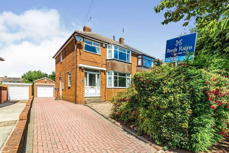 3 Bedrooms Semi Detached House for sale in Newman Road, Moorgate, Rotherham, South Yorkshire, S60