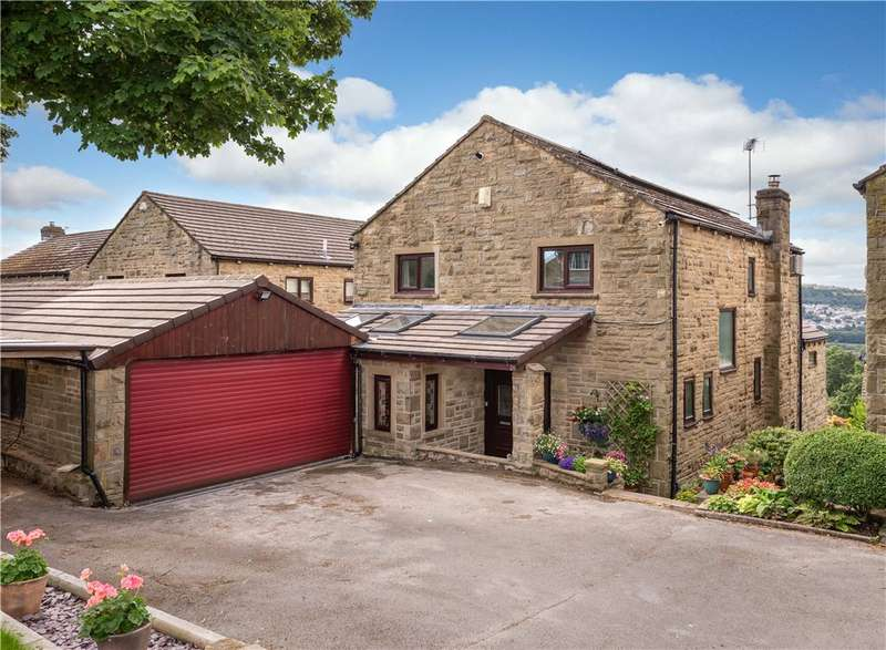 4 Bedrooms Detached House for sale in Old Langley Lane, Baildon, West Yorkshire