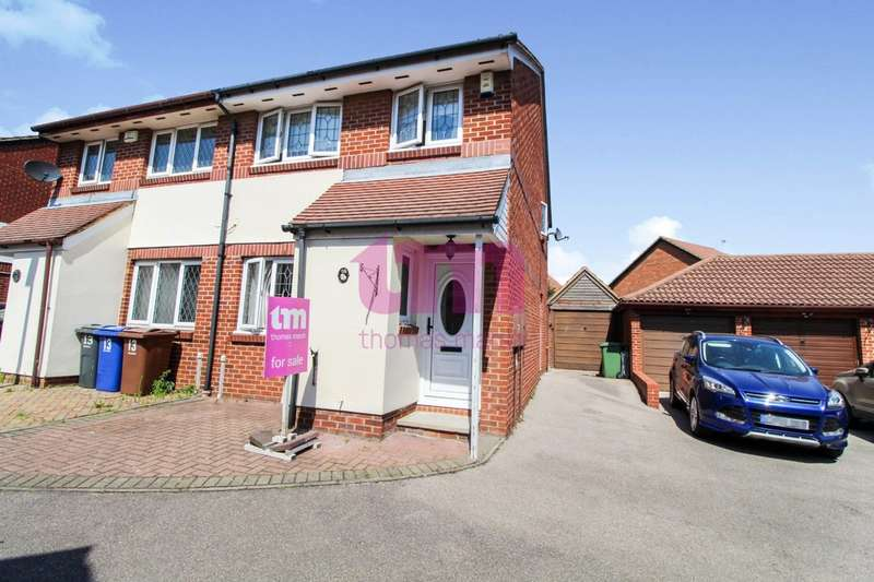 3 Bedrooms Semi Detached House for sale in Brevet Close, Purfleet