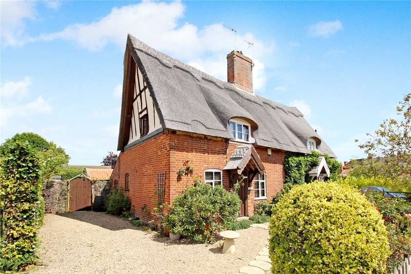 2 Bedrooms Semi Detached House for sale in Chapel Road, Wrentham, Beccles, Suffolk, NR34