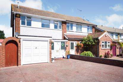 3 Bedrooms Semi Detached House for sale in Great Wakering, Southend-on-Sea, Essex