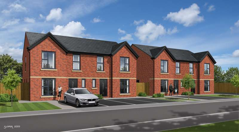 3 Bedrooms Semi Detached House for sale in PLOT 6, Off Rectory Lane, Thurnscoe, Rotherham, S63