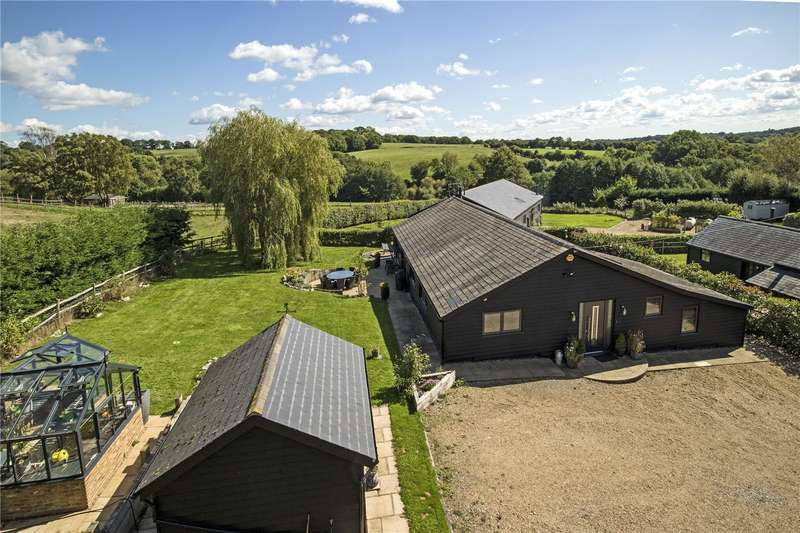 4 Bedrooms Detached House for sale in Smithers Lane, Cowden, Edenbridge, Kent