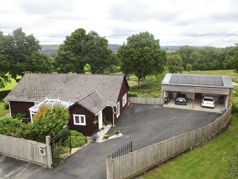 3 Bedrooms Detached Bungalow for sale in Howey, Llandrindod Wells, Powys, LD1 6NL