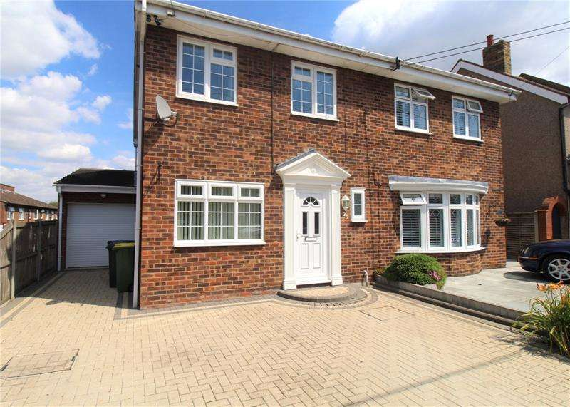 4 Bedrooms Semi Detached House for sale in Church Road, Rayleigh, Essex, SS6