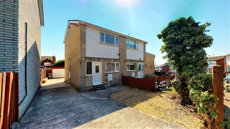 2 Bedrooms Semi Detached House for sale in Strauss Crescent, Maltby, Rotherham