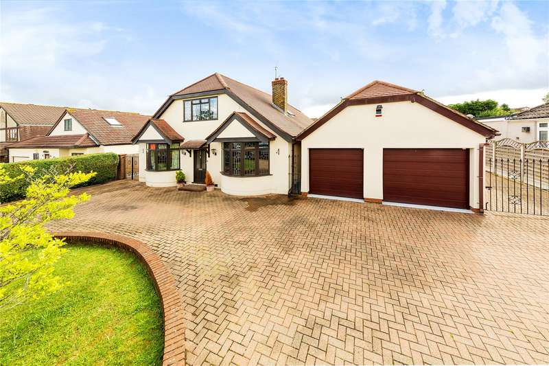 4 Bedrooms Detached House for sale in Wingletye Lane, Hornchurch, RM11