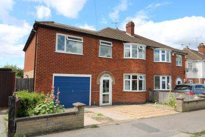 5 Bedrooms Semi Detached House for sale in Guilford Drive, Wigston, Leicestershire