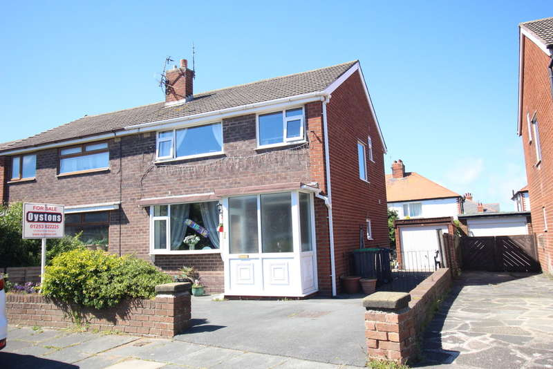 3 Bedrooms Semi Detached House for sale in Hillcrest Road, Blackpool