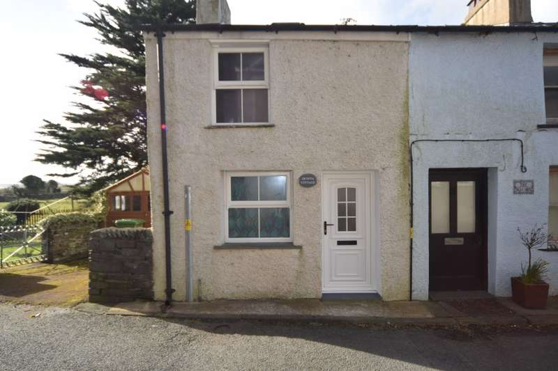 2 Bedrooms End Of Terrace House for sale in Quinta Cottage, Sandside, Kirkby In Furness, Cumbria