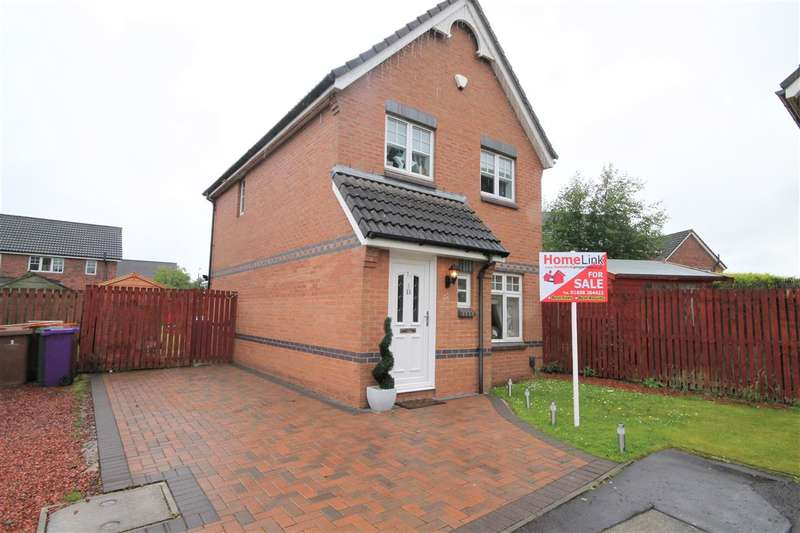 3 Bedrooms Detached House for sale in Waterhaughs Gardens, Robroyston, Glasgow