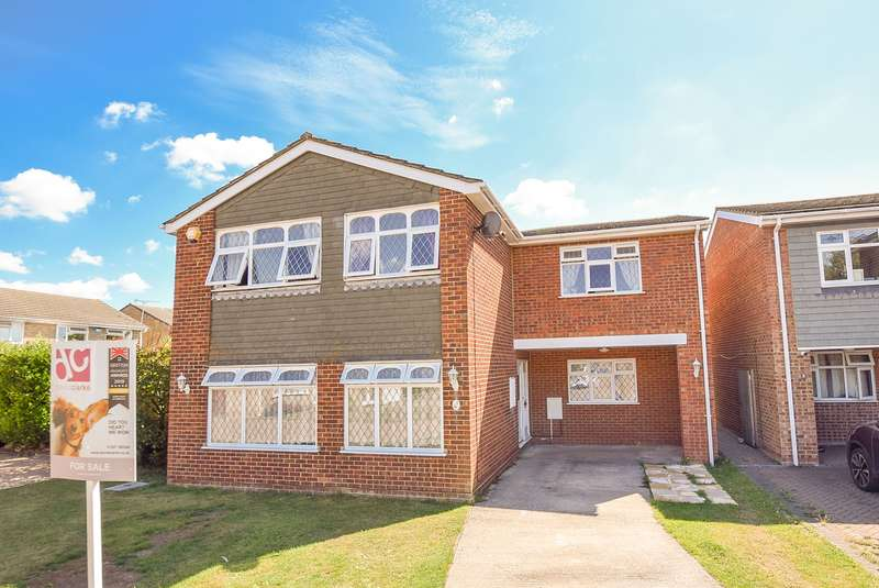 5 Bedrooms Detached House for sale in Helding Close, Herne Bay