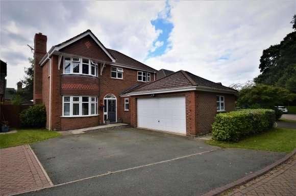 4 Bedrooms Detached House for sale in Meadowbank Drive, Little Sutton, Ellesmere Port