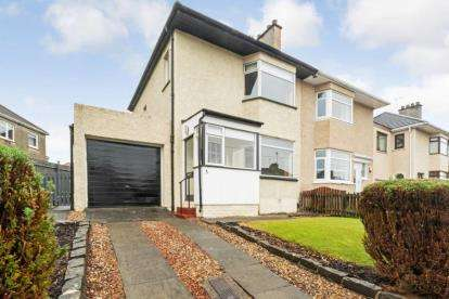 3 Bedrooms Semi Detached House for sale in Viewfield Avenue, Garrowhill, Glasgow, Lanarkshire