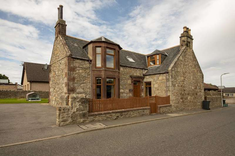 5 Bedrooms Detached House for sale in Cornhill Road, Aberchirder, Huntly, Aberdeenshire, AB54 7SH