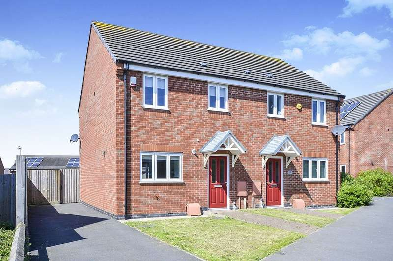 3 Bedrooms Semi Detached House for sale in Brandon Walk, Sutton-in-Ashfield, NG17