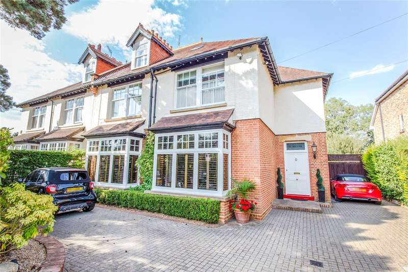 5 Bedrooms Semi Detached House for sale in Barnet Lane, Elstree, Hertfordshire, WD6