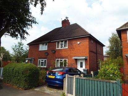 2 Bedrooms Semi Detached House for sale in Platt Lane, Manchester, Greater Manchester, Uk