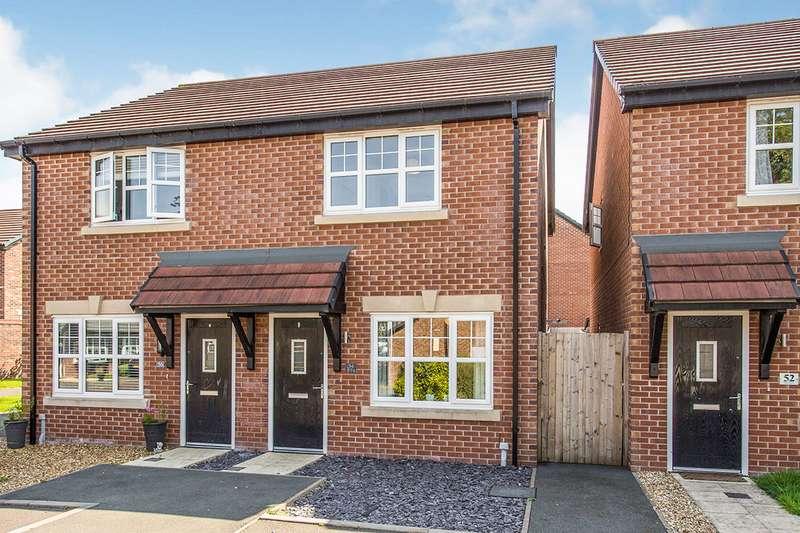 2 Bedrooms Semi Detached House for sale in Forest Grove, Barton, Preston, Lancashire, PR3