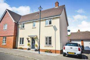 3 Bedrooms Semi Detached House for sale in Imperial Way, Ashford, Kent