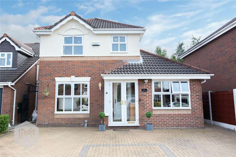 4 Bedrooms Detached House for sale in Salterton Drive, Bolton, Lancashire, BL3