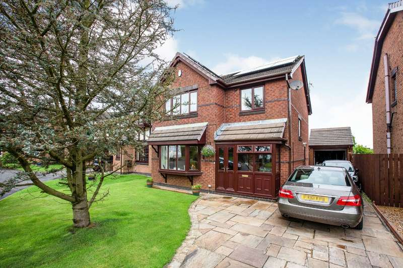 4 Bedrooms Detached House for sale in Buttercross Close, Burnley, Lancashire, BB11