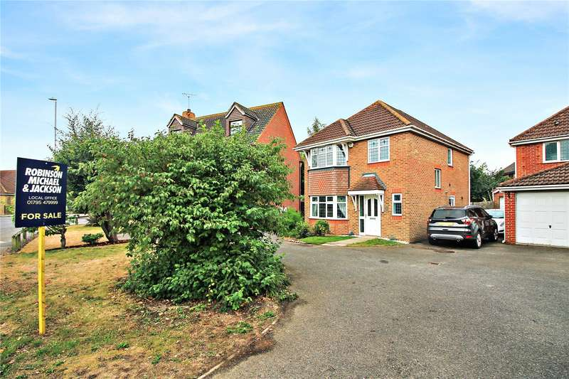 4 Bedrooms Detached House for sale in Amber Rise, Sittingbourne, ME10