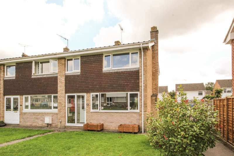 3 Bedrooms End Of Terrace House for sale in Willow Close, Charfield, South Glos, GL12 8UD