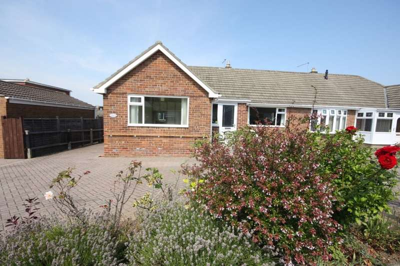 2 Bedrooms Semi Detached Bungalow for sale in Latimer Lane, Guisborough, TS14