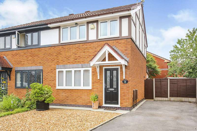 3 Bedrooms Semi Detached House for sale in Tytherington Drive, Reddish, Stockport, M19