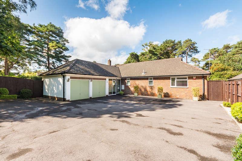 4 Bedrooms Detached Bungalow for sale in Woolsbridge Road, Ashley Heath, Ringwood