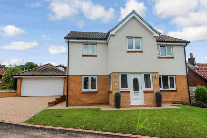 4 Bedrooms Detached House for sale in Grizedale Close, Bolton