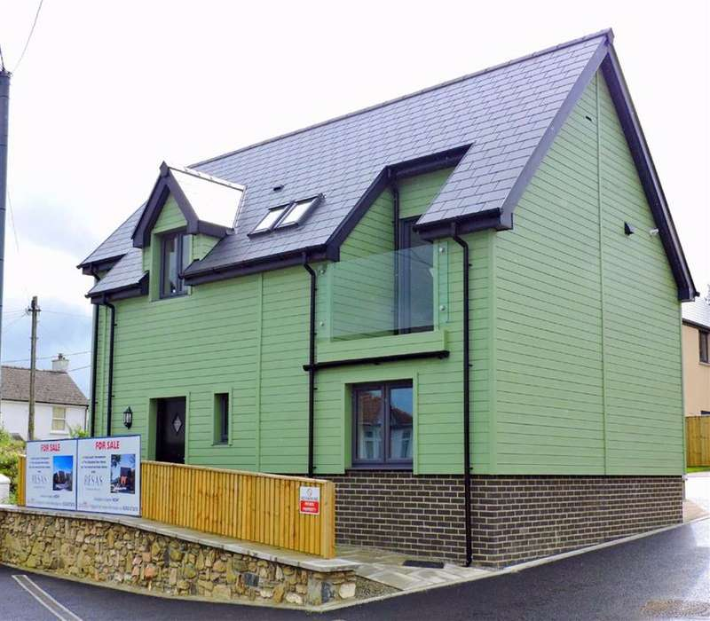 3 Bedrooms Detached House for sale in Lle Bryony, Parrog Road, Newport
