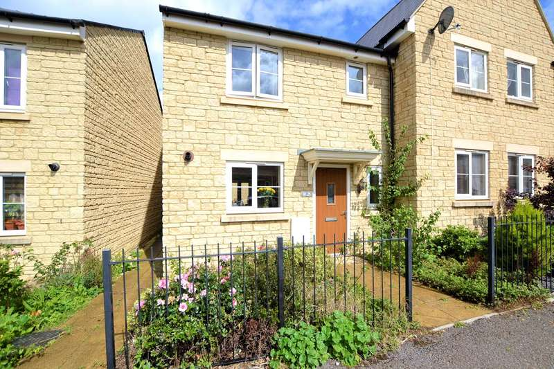 3 Bedrooms Semi Detached House for sale in Guan Road, Brockworth, Gloucestershire, GL3