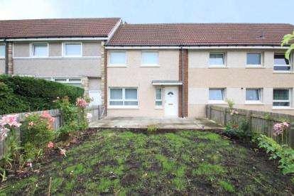 2 Bedrooms Terraced House for sale in Scone Walk, Baillieston, Glasgow, Lanarkshire