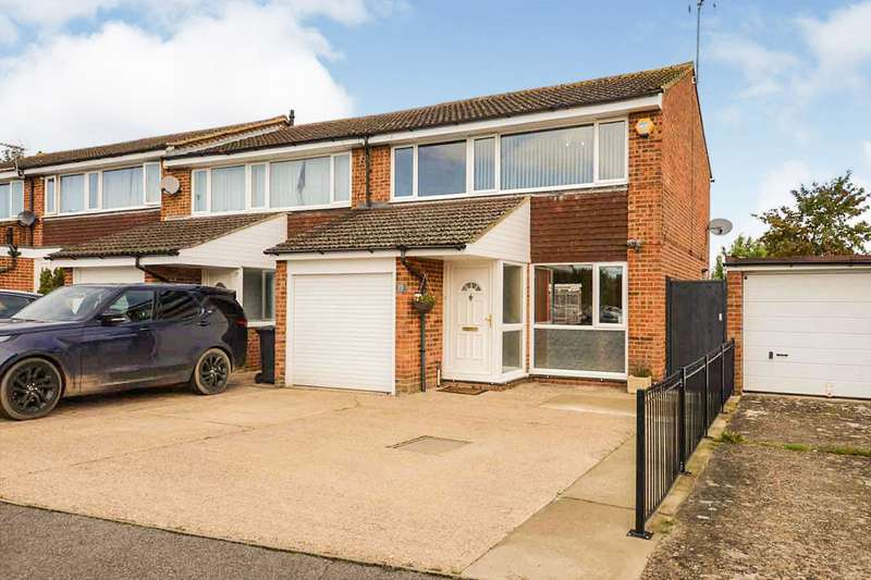 3 Bedrooms End Of Terrace House for sale in Bronte Crescent, Hemel Hempstead, Hertfordshire, HP2