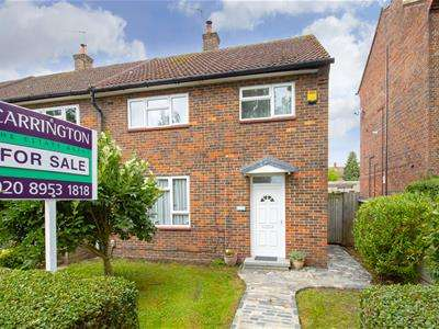 3 Bedrooms End Of Terrace House for sale in Tempsford Avenue, Borehamwood